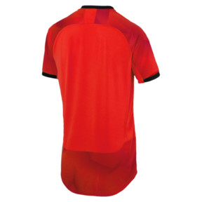 Thumbnail 6 of ftblNXT Graphic Men's Shirt, Red Blast-Puma Black, medium