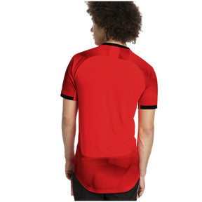 Thumbnail 2 of ftblNXT Graphic Men's Shirt, Red Blast-Puma Black, medium