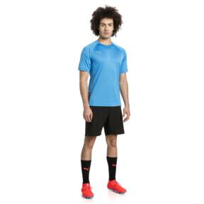 Thumbnail 3 of ftblNXT Pro Men's Training Top, Bleu Azur-Red Blast, medium