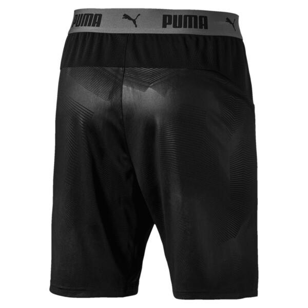 ftblNXT Herren Fußball Shorts, Puma Black-Red Blast, large