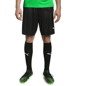 Thumbnail 1 of ftblNXT Herren Fußball Shorts, Puma Black-Red Blast, medium