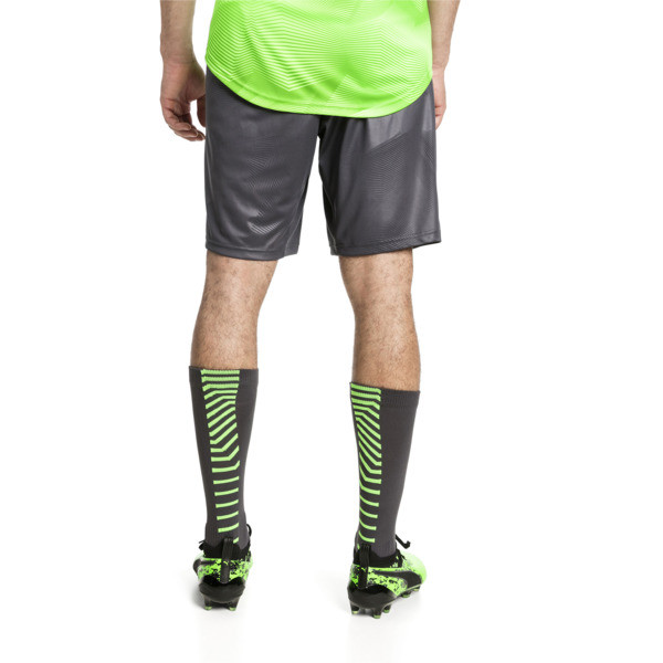 ftblNXT Woven Men's Football Shorts, -Green Gecko, large