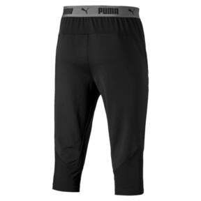 Thumbnail 4 of ftblNXT Men's 3/4 Length Training Pants, Puma Black-Red Blast, medium