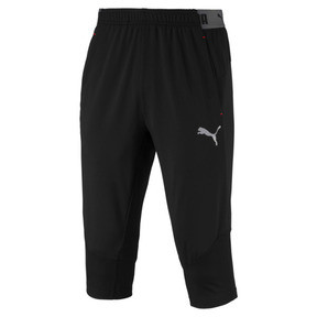 Thumbnail 1 of ftblNXT Men's 3/4 Length Training Pants, Puma Black-Red Blast, medium