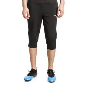 Thumbnail 2 of ftblNXT Men's 3/4 Length Training Pants, Puma Black-Red Blast, medium