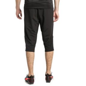 Thumbnail 3 of ftblNXT Men's 3/4 Length Training Pants, Puma Black-Red Blast, medium