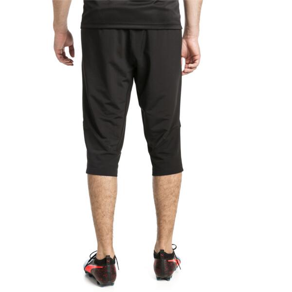 ftblNXT Men's 3/4 Length Training Pants, Puma Black-Red Blast, large