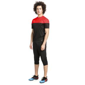 Thumbnail 5 of ftblNXT Men's 3/4 Length Training Pants, Puma Black-Red Blast, medium
