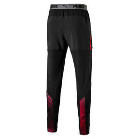 Thumbnail 6 of ftblNXT Men's Pro Training Pants, Puma Black-Red Blast, medium
