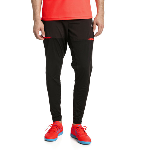 ftblNXT Pro Herren Trainingshose, Puma Black-Red Blast, large