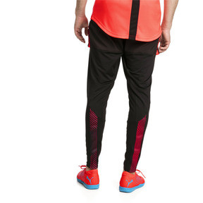 Thumbnail 2 of ftblNXT Men's Pro Training Pants, Puma Black-Red Blast, medium