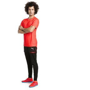 Thumbnail 3 of ftblNXT Men's Pro Training Pants, Puma Black-Red Blast, medium
