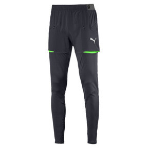 Thumbnail 1 of ftblNXT Men's Pro Training Pants, Ebony-Green Gecko, medium