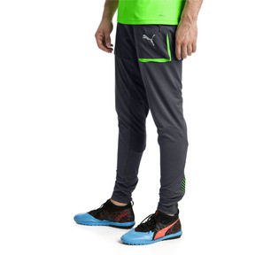 Thumbnail 2 of ftblNXT Men's Pro Training Pants, Ebony-Green Gecko, medium
