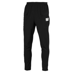 Thumbnail 4 of ftblNXT Casual Men's Football Pants, Puma Black-Charcoal Gray, medium