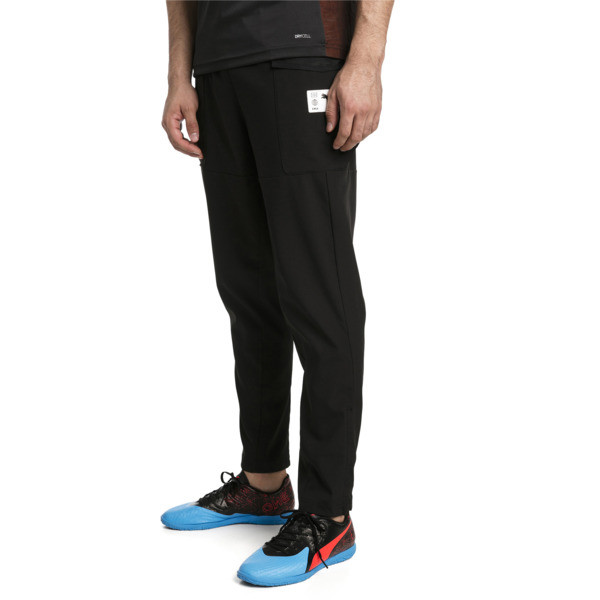 ftblNXT Casual Men's Football Pants, Puma Black-Charcoal Gray, large