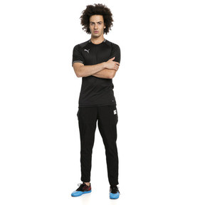 Thumbnail 3 of ftblNXT Casual Men's Football Pants, Puma Black-Charcoal Gray, medium