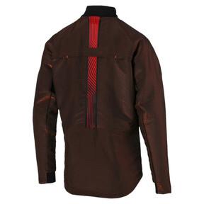 Thumbnail 7 of ftblNXT Men's Pro Jacket, Puma Black-Red Blast, medium
