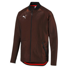 Thumbnail 6 of ftblNXT Pro Men's Jacket, Puma Black-Red Blast, medium