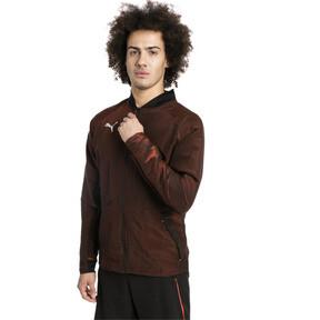 Thumbnail 1 of ftblNXT Men's Pro Jacket, Puma Black-Red Blast, medium