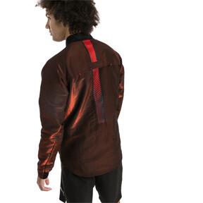 Thumbnail 2 of ftblNXT Men's Pro Jacket, Puma Black-Red Blast, medium