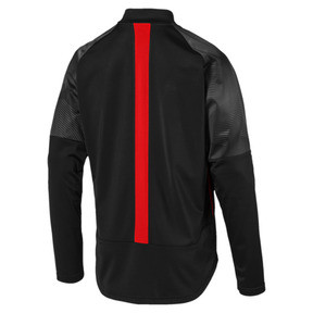 Thumbnail 5 of ftblNXT Men's Track Jacket, Puma Black-Red Blast, medium