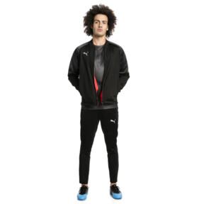 Thumbnail 3 of ftblNXT Zip-Up Men's Track Jacket, Puma Black-Red Blast, medium