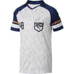Thumbnail 1 of Super Puma Jersey II, Puma White-Peacoat, medium