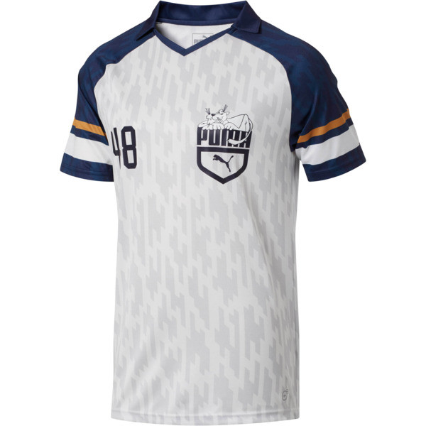 Super Puma Jersey II, Puma White-Peacoat, large