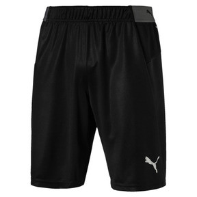 Thumbnail 4 of ftblNXT Men's Football Shorts, Puma Black-Red Blast, medium