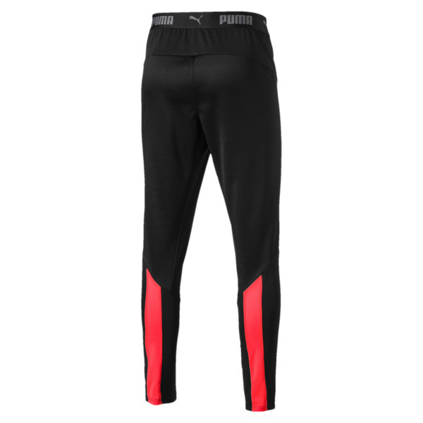 ftblNXT Men's Pants, Puma Black-Red Blast, large