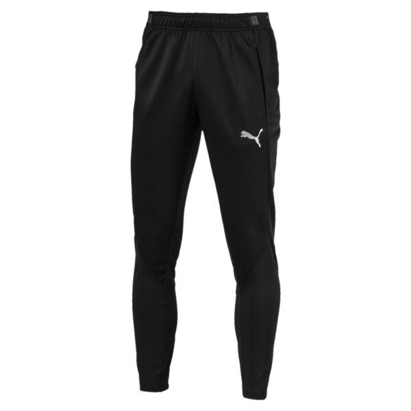 ftblNXT Men's Pants, Puma Black-Red Blast, large