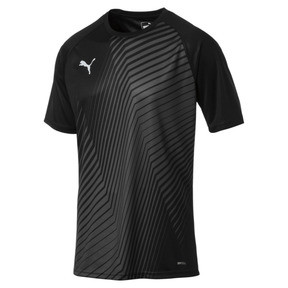 Thumbnail 4 of ftblNXT Core Men's Football Graphic Tee, Puma Black-Red Blast, medium