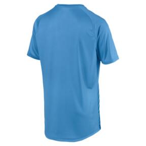 Thumbnail 5 of ftblNXT Core Men's Football Graphic Tee, Bleu Azur-Red Blast, medium