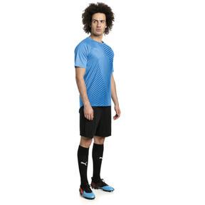 Thumbnail 3 of ftblNXT Core Graphic Herren Fußball T-Shirt, Bleu Azur-Red Blast, medium