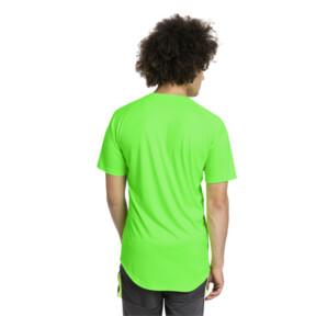 Thumbnail 2 of ftblNXT Core Men's Football Graphic Tee, Green Gecko-Ebony, medium