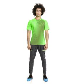 Thumbnail 3 of ftblNXT Graphic Core Men's Training Top, Green Gecko-Ebony, medium