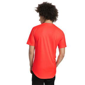 Thumbnail 2 of ftblNXT Core Men's Football Graphic Tee, Red Blast-Puma Black, medium