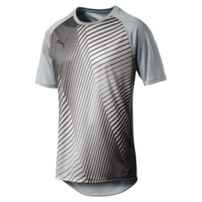 Thumbnail 1 of ftblNXT Graphic Core Men's Training Top, High Rise-Charcoal Gray, medium