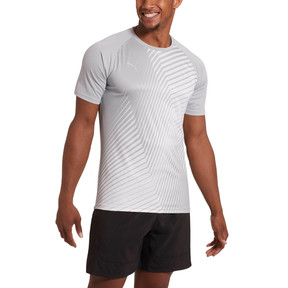 Thumbnail 2 of ftblNXT Graphic Core Men's Training Top, High Rise-Charcoal Gray, medium