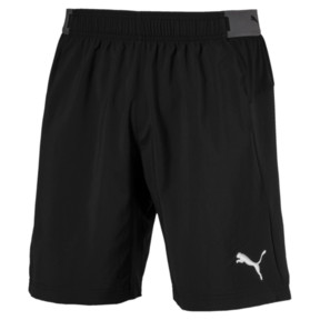 Thumbnail 4 of ftblNXT Woven Men's Shorts, Puma Black-Red Blast, medium