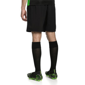 Thumbnail 2 of ftblNXT Woven Men's Shorts, Puma Black-Red Blast, medium