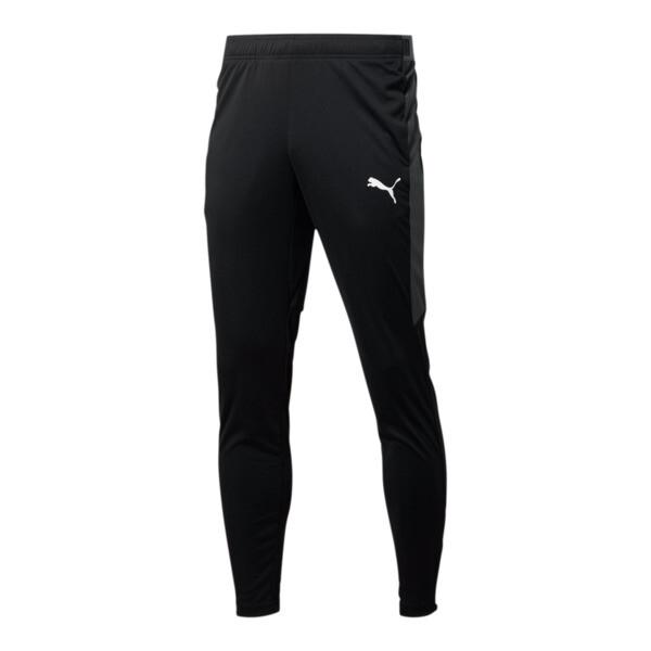 Men's Speed Pants, Puma Black-Asphalt, large