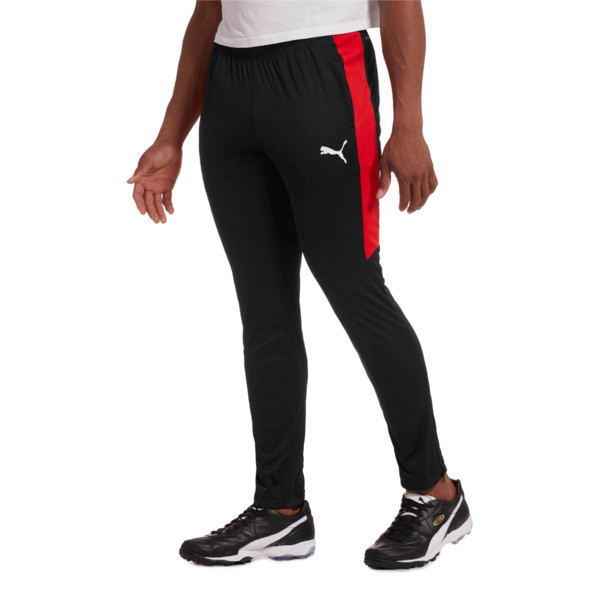 Men's Speed Pants, Puma Black-Puma Red, large