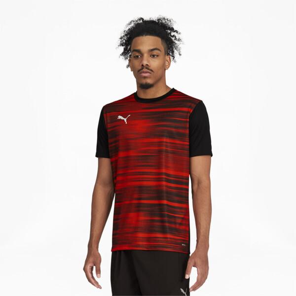 Puma Ftblnxt Core Graphic Shirt In Black/Warm Earth, Size L