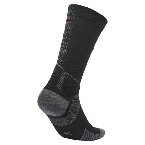 Team ftblNXT Herren Fußball Socken, Puma Black-Nrgy Red, large