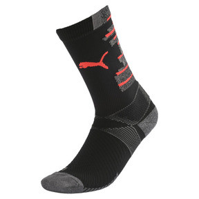 Thumbnail 1 of Team ftblNXT Herren Fußball Socken, Puma Black-Nrgy Red, medium