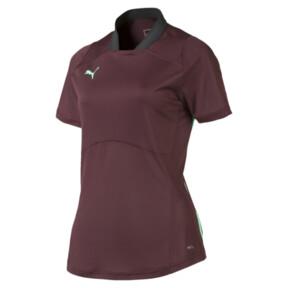 Thumbnail 4 of ftblNXT Pro Women's Football Shirt, Vineyard Wine-Green Glimmer, medium
