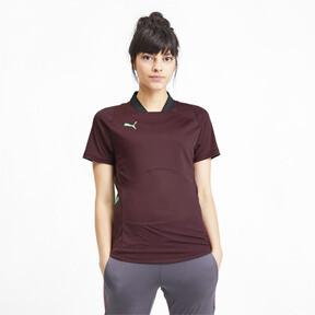 Thumbnail 1 of ftblNXT Pro Women's Football Shirt, Vineyard Wine-Green Glimmer, medium
