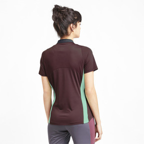 Thumbnail 2 of ftblNXT Pro Women's Football Shirt, Vineyard Wine-Green Glimmer, medium